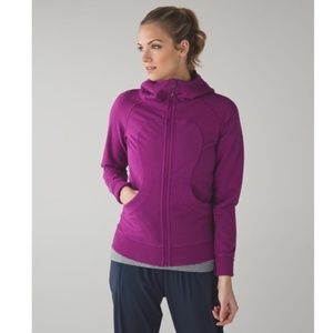 Lululemon Scuba Hoodie Heathered Regal Plum